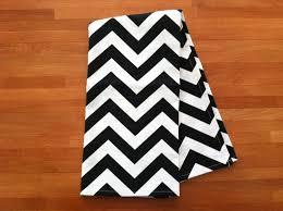 Black And White Chevron Tea Towels