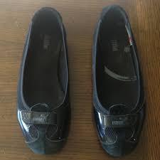 puma zandy 7 5. puma flats zandy patent wn\u0027s - women\u0027s shoes : black a sleek and stylish puma 7 5 d