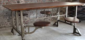 industrial style furniture. Beautiful Style Industrial Kitchen Chairs 140cm Table Bench And In Style Tables Prepare 2 Intended Furniture U