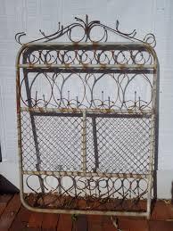 antique scroll wrought iron garden gate pick up perth w a ebay old garden gates