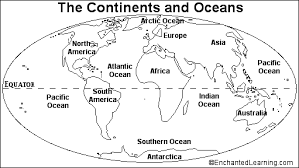 Small Picture The Continents Coloring Page
