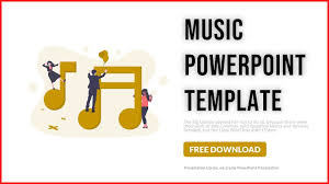 Music Powerpoint Template Music Powerpoint Template Free 2019 Presentation Library