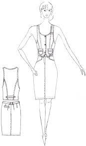 Курсовая работа моделирование женского платья sns sport ru  интернет магазин одежды для детей 10 лет