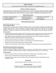 resume finance develop management tools resume entry level senior