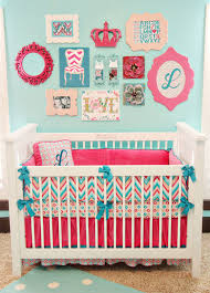 Bright Colored Baby Bedding