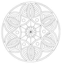 Mandala Online Coloring Pages Advanced Mandala Coloring Pages Online