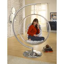bubble hanging chair ikea with wooden floor and rug for home decoration  ideas