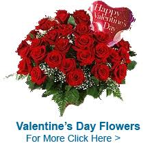 valentine s day flowers to india