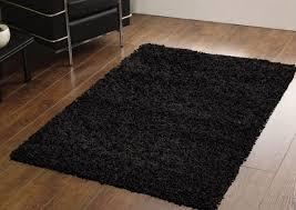 ikea black hampen rug style