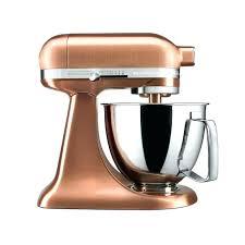 rose gold kitchenaid mixer