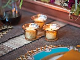 Diy Gold Candle Holders Easily Make Your Own Mercury Glass Votives Hgtv