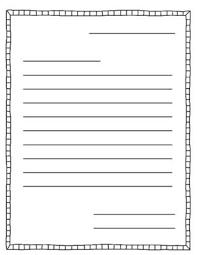Printable Letter Templates Printable Letter Writing Templates Printable Letter Writing Template