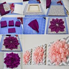 Small Picture Top 25 best Flower wall decor ideas on Pinterest 3d paper