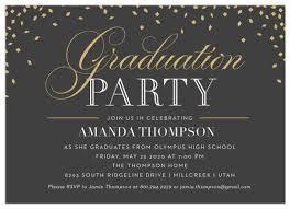 Photo Party Invitations 2019 Graduation Party Invitations Super Cute Easy To