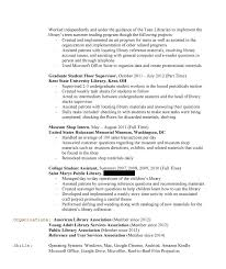 Sample Librarian Resume Resume Sample Librarian Resume 13