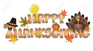 Word Thanksgiving Stock Illustration