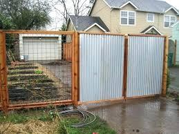 metal fencing ideas free fence design decoration corrugated metal fence decoration ideas how to design