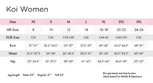 Size Guide Dental Uniforms Healthcare Uniforms Medical