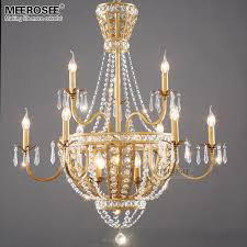 new arrival crystal chandelier lamp hanging res dining room light fixture restaurant lamparas de techo lighting oil rubbed bronze chandelier turquoise