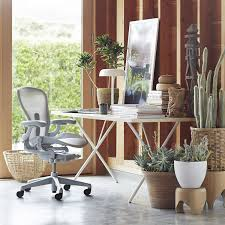 healthy home office. Aeron® Office Chair, Mineral By Don Chadwick, From Herman Miller Healthy Home E