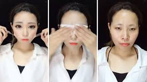 the latest beauty trend that went viral allows changing your face pletely without any real surgery but only with the help of prosthetics