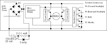 understanding a dcc decoder circuit board model railroader dcc decoder wiring colours at Dcc Locomotive Wiring Diagram