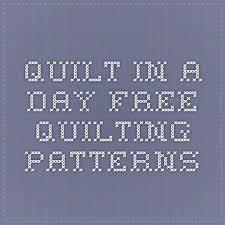 Πάνω από 25 κορυφαίες ιδέες για Quilt in a day στο Pinterest & Quilt in a Day - Free Quilting Patterns - Eleanor Burns Block patterns do  one of Adamdwight.com