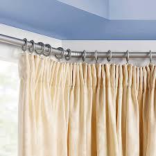 how to install bay window curtain rail home the honoroak