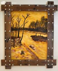 Image Wood Distressed Pinterest My Uses Of Pallets Unique Picture Frames 1001 Pallets