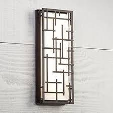 modern outdoor sensor wall lights. modern lines 16 1/4\ outdoor sensor wall lights