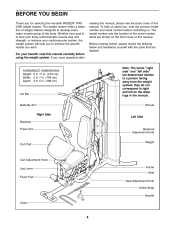 Weider Pro 4300 Exercise Chart Download Weider Pro 4300 Dimensions