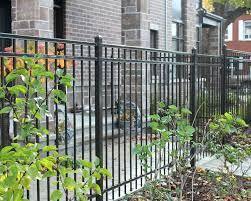 cast iron garden fence