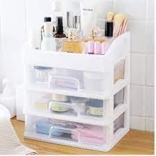 makeup organizer drawers plastic