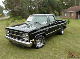 chevy 1/2 ton shortbed,restored,no rust,406 stroker,850 holley ...