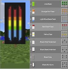 Minecraft Banner Patterns Gorgeous Rainbow Banner Drunken Melon Balls Pinterest Banners Rainbows
