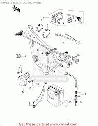 kawasaki ar 50 wiring diagram kawasaki wiring diagrams chassis electrical equipment schematic