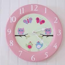 children s wall clocks nursery clock