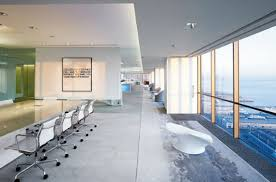 office natural light. like homes, natural light plays a large part in the office. not only saving energy costs, it also creates relaxing ambience for employees to work in. office d