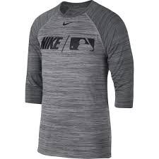 Nike Dri Fit Long Sleeve Size Chart Nike Dri Fit Mens Baseball 3 4 Sleeve Shirt