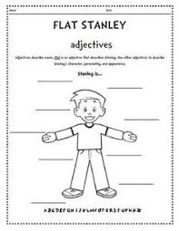 Flat stanley writing paper