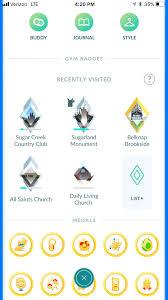 Gym Badges And Earning Badge Xp Pokemon Go Hub