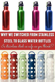 stainless steel vs glass