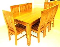 dining tables solid teak dining table post indoor au