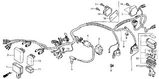 2004 honda foreman rubicon 500 wiring diagram wirdig honda foreman 450 carburetor diagram as well honda 300 fourtrax wiring