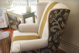 floor alluring wingback chair slipcover