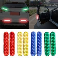 Design Reflective Stickers 2019 Car Door Reflective Sticker Warning Tape Car Reflective Stickers Reflective Strips Safety Mark Car Styling From Autopartsvendor 4 03