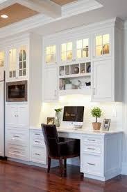 office in kitchen. office nook in kitchen o