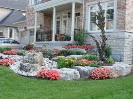 Small Picture Front Yard Landscaping Ideas Decorative rocks Front gardens and