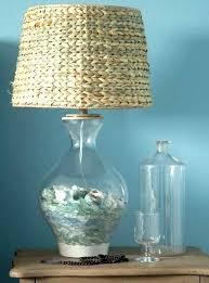 fascinating sea glass lamp lamp sea glass flush mount lighting