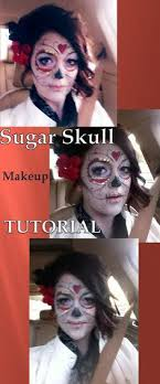 diy costume ideas sugar skull makeup tutorial how to apply skull makeup face painting my slice of sunday